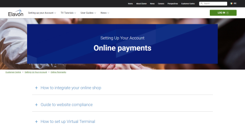 Online Payments – Setting Up Your Account - Customer Centre