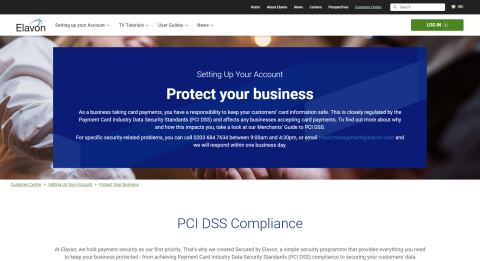 Protect Your Business - Setting Up Your Account - Customer Centre
