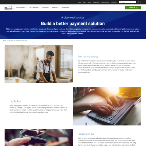 Accepting Card Payments for Professionals, Trades, Plumbers